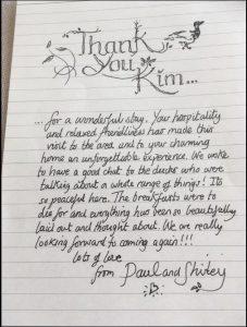 beautiful note