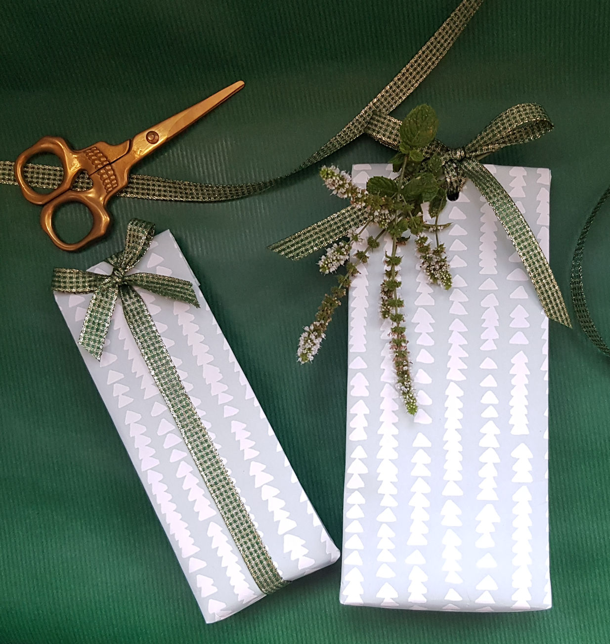 Gifts and scissors